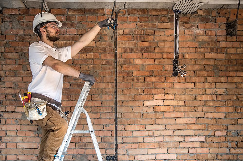 замена электропроводки в квартире и доме Ростов