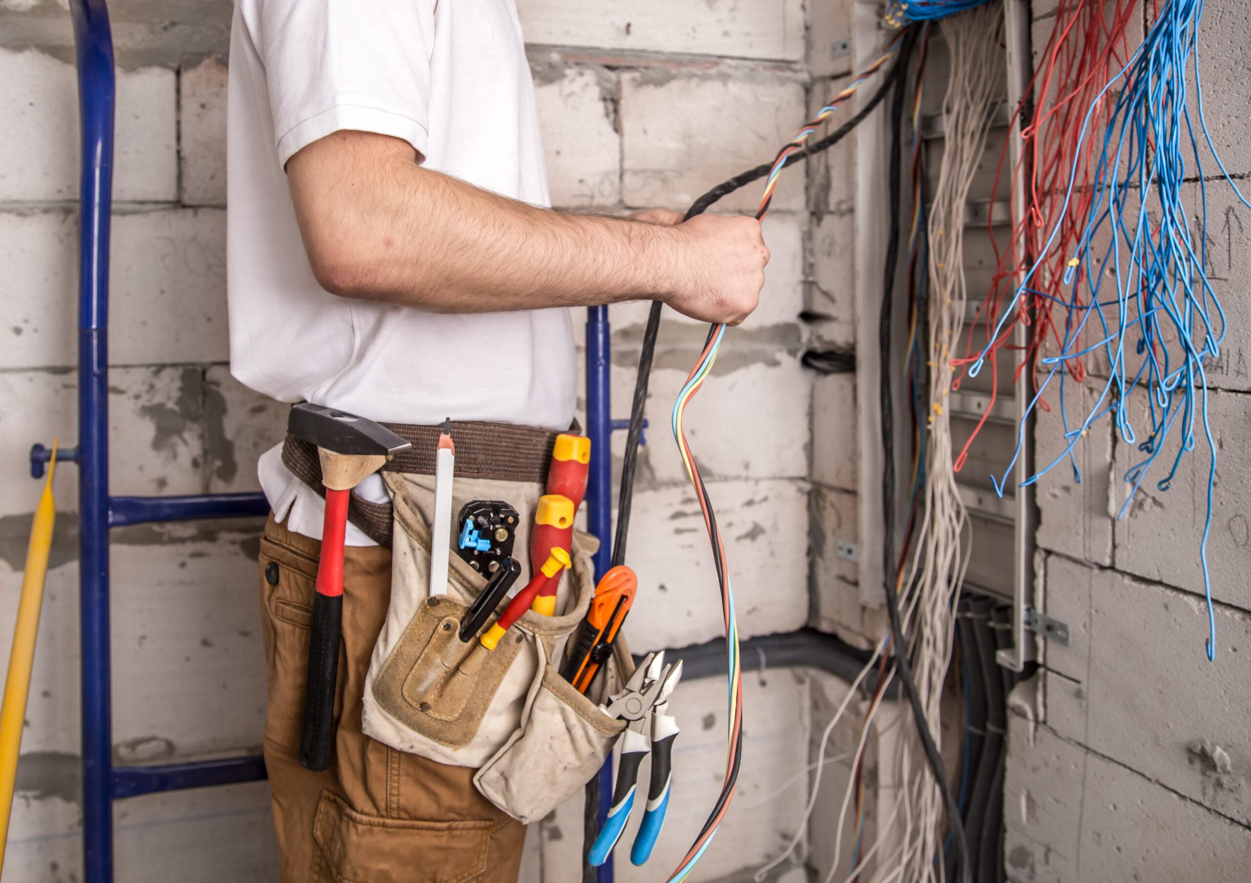 замена электропроводки в квартире, доме, офисе