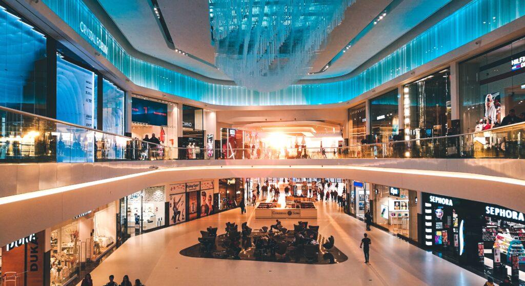 ремонт электрики в торговых центрах